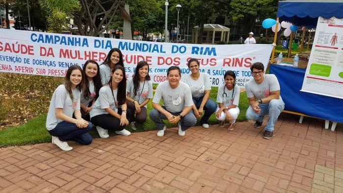 Dia Mundial do Rim 2018 na cidade de Itaúna.